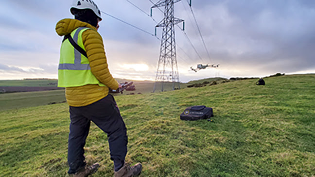 utility-gape-demonstrates-advantages-of-drones-and-iot-enabled-visual-instrument-–-transmission-&-distribution-world